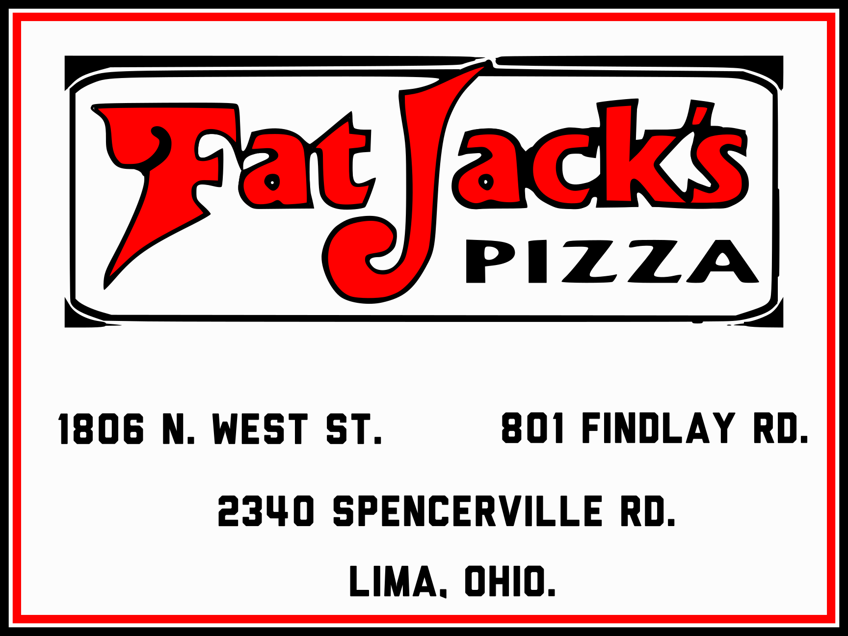 Fat Jack's Pizza